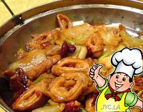 水煮辣味肥肠的做法
