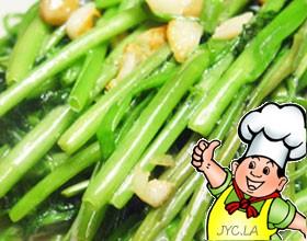 姜汁蕹菜的做法
