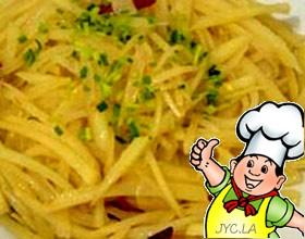 椒蒜土豆丝的做法