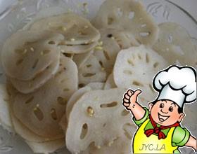 椒油炝藕片的做法