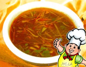 酸辣肚丝汤的做法