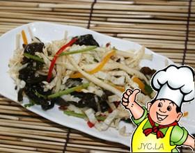 凉拌酸辣白菜的做法