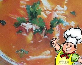 番茄肉丝汤的做法