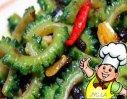 豆豉烧苦瓜的做法