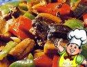 豉椒鳝片的做法