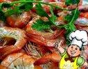 金沙基围虾的做法