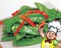 蒜茸荷兰豆的做法