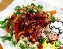 金蒜银鱼蒸菜心的做法