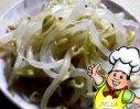 凉拌黄豆芽的做法