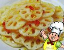姜汁藕片的做法