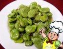 油炝蚕豆的做法