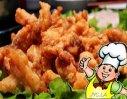 炸麻叶肉的做法