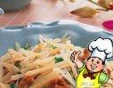 醋熘土豆丝的做法