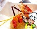 虾球鸭掌的做法