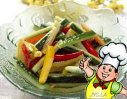 尖椒黄瓜条的做法