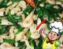 韭菜炒虾丝的做法