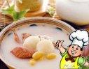银耳杏仁鹌鹑汤的做法