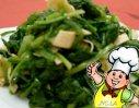 千张菠菜的做法