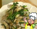 韭菜炒蛏子的做法