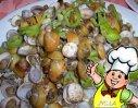 尖椒炒刀蚬的做法