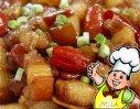 菠汁红烧肉的做法