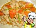 番茄鸡片的做法