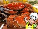 九味汁烹螃蟹的做法