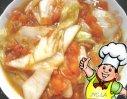 番茄扒白菜的做法
