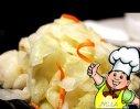 香拌卷心菜的做法