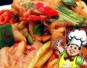 回锅肉白菜的做法