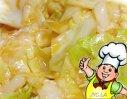 香辣圆白菜的做法
