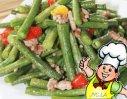 豇豆炒辣椒的做法