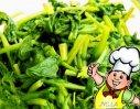 香辣菠菜的做法