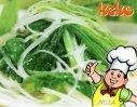菠菜拌粉丝的做法