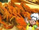 海椒蒸螃蟹的做法