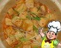 香辣臭豆腐煲的做法
