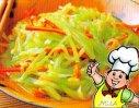 鲜味莴苣丝的做法