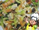 凉拌蛤蜊肉的做法