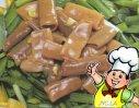 韭菜拌海肠的做法