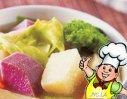 洋葱椰菜红萝卜土豆汤的做法