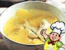 菠萝鸡片汤的做法