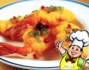 煎焗瓤明虾的做法