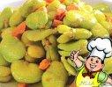 火腿蚕豆的做法