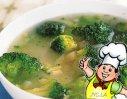 牛奶绿菜花的做法