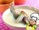烩奶汤鲫鱼的做法