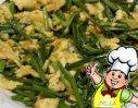 鸡蛋炒韭菜的做法