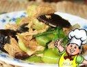 腐竹烧香菇的做法
