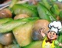 草菇烧丝瓜的做法