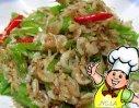 尖椒虾皮的做法