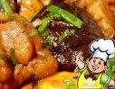 栗肉烧香菇的做法